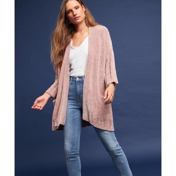593b2b5c073d58 Anthropologie Sweaters - Moth Chenille cardigan